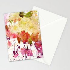 sweet spring floral Stationery Cards
