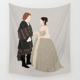 Outlander, Jamie and Claire Wall Tapestry