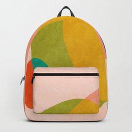 pink shape Backpack