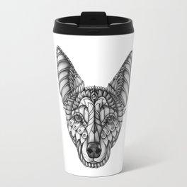 Ornate Australian Kelpie Travel Mug