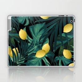 Tropical Lemon Twist Jungle Night #1 #tropical #decor #art #society6 Laptop & iPad Skin