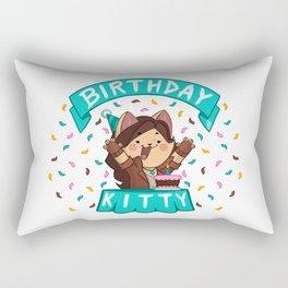 Birthday Kitty (2018) Rectangular Pillow