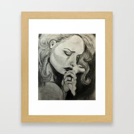 """Tough Luck"" Framed Art Print"