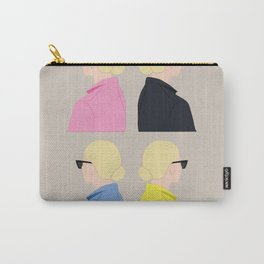 Girls blond / blond friend / chica rubia / blond / girl / girl with glasses Carry-All Pouch