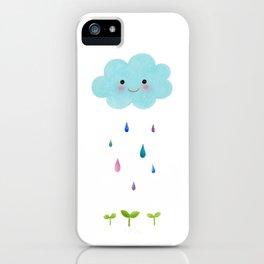 Rain Cloud iPhone Case