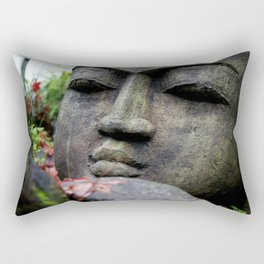 Buddha Love in Photography Rectangular Pillow