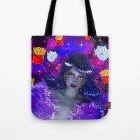 marceline Tote Bags featuring Marceline by Sara Eshak