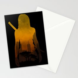The Walking Dead - Michonne Stationery Cards