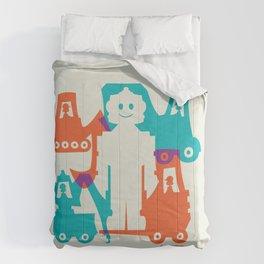 Friendlier Robots Comforters