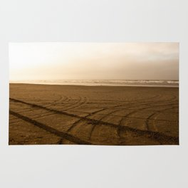 Lonely beach Rug