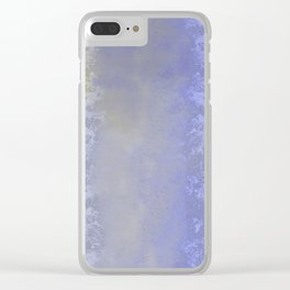 Salted earth abstract- mineral instruction Clear iPhone Case