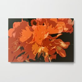 Orange Bush Lily Metal Print