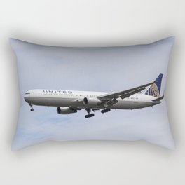 United airlines Boeing 767 Rectangular Pillow
