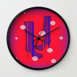Art Meets Fashion Wall Clock