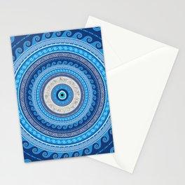 Greek Mati Mataki - Matiasma Evil Eye ornament #2 Stationery Cards