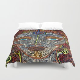 Vision of Ajna Duvet Cover