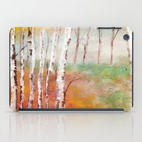 birch iPad Cases featuring Birch  by Indraart
