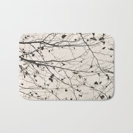 boughs pale Bath Mat