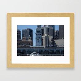 Port of Entry Framed Art Print