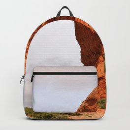 An Unique Rockformation Backpack