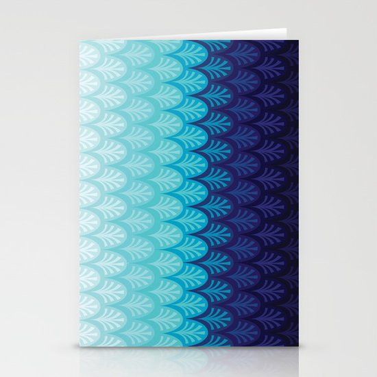 Arctic Ombre! Stationery Cards