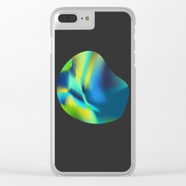 Abstract lights II Clear iPhone Case