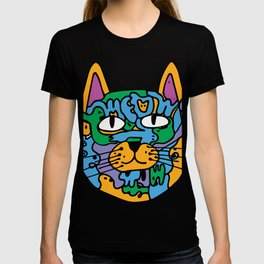 Mischief the Trippy Cat T-shirt