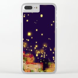 Lights of Hope... Clear iPhone Case