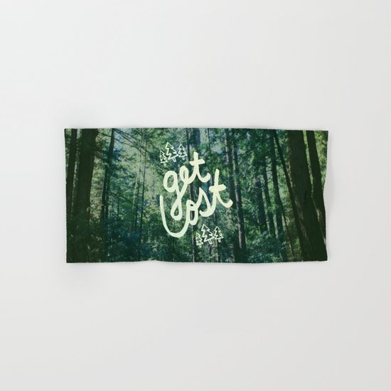 Get Lost x Muir Woods Hand & Bath Towel