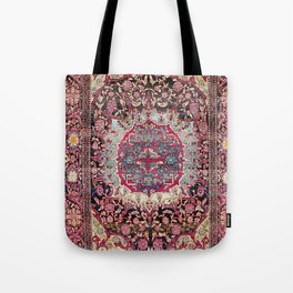 Esfahan  Antique Persian Rug Tote Bag