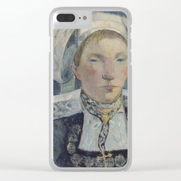 The Beautiful Angèle Clear iPhone Case