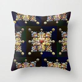 Medallions, 2410b Throw Pillow