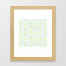 Clivia Blooms  Framed Art Print