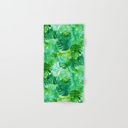 Welcome to the Jungle Palm Hand & Bath Towel
