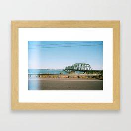 None Framed Art Print