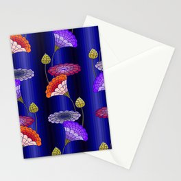 decorative floral ornament Stationery Cards
