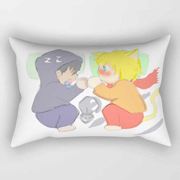 chiby yaoi Rectangular Pillow