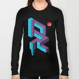 snake 3d  Long Sleeve T-shirt