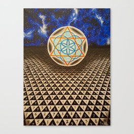 Transcendental Object At The End Of The Universe Canvas Print