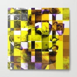 Cubist / Bob Dylan Metal Print