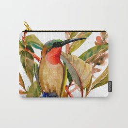 Bee Eater and Mango Tree Carry-All Pouch