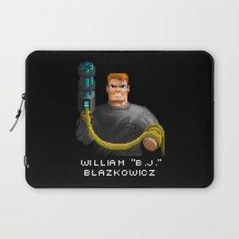 """William """"B.J."""" Blazkowicz Laptop Sleeve"""