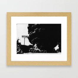 Blockeo Framed Art Print