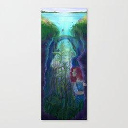 The Deep Canvas Print