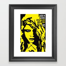 George A. Romero Series :: Night of the Living Dead Framed Art Print