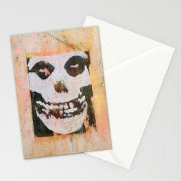 Misfit-Skull Stationery Cards