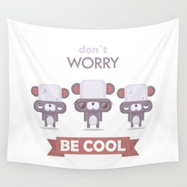 Be cool. Panda Wall Tapestry