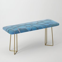 Periwinkle Dreams Bench