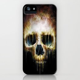 Skull Flame iPhone Case
