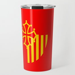 Languedoc Roussillon france country region flag Travel Mug